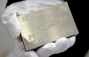 Рост цен на платину